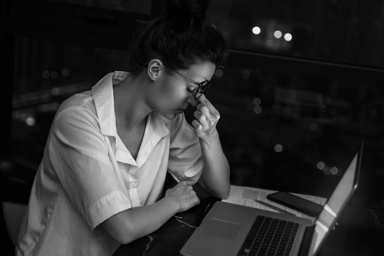 vermoeidheid en oplopende werkdruk